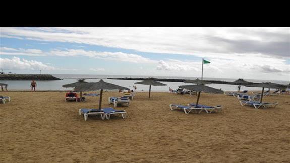 Plaża przy hotelu Elba Carlota