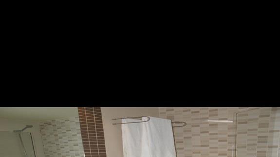Łazienka w pokoju standard hotelu Elba Carlota