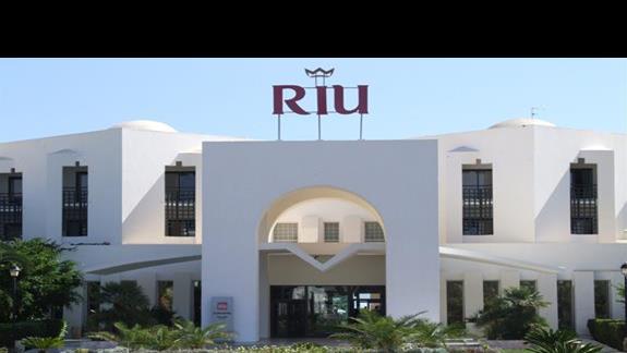 Front Hotelu Riu Palm Azur