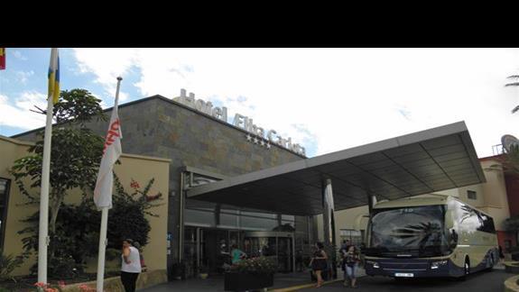 Hotel Elba Carlota od frontu