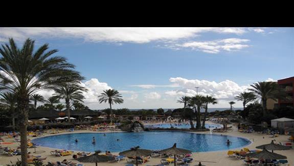 Baseny hotelu Elba Carlota