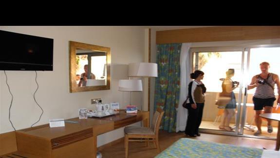 Pokój standardowy w hotelu Elba Carlota