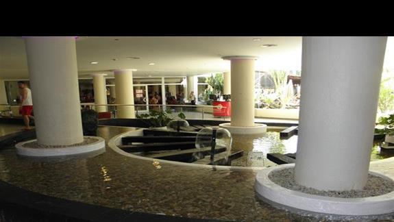 Lobby hotelu Sol Lanzarote