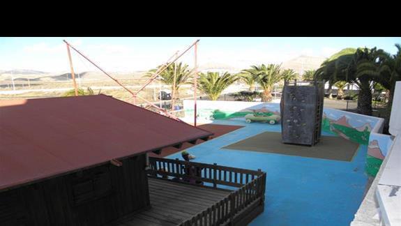 Plac zabaw w hotelu Sol Lanzarote