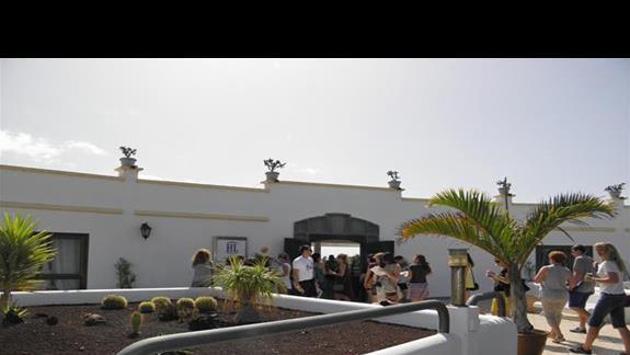Hotel Rio Playa Blanca od frontu