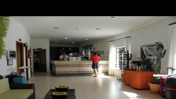 Recepcja w hotelu Rio Playa Blanca