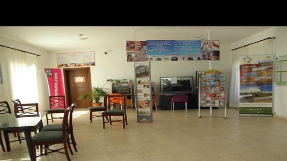 Hol w hotelu Rio Playa Blanca