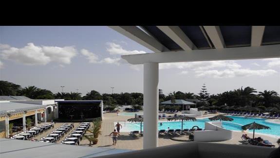 Baseny w hotelu Rio Playa Blanca