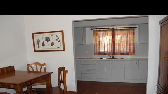 Aneks kuchenny w bungalowie hotelu Rio Playa Blanca