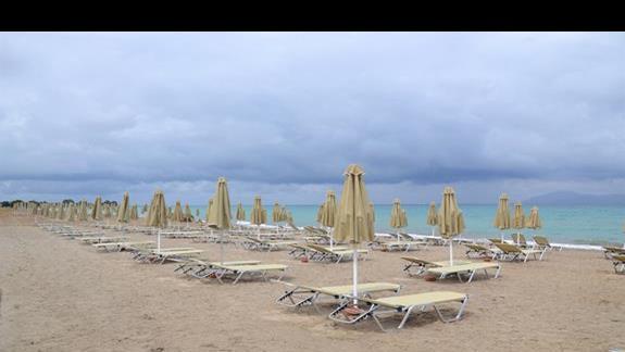Plaża przy hotelu Horizon Beach