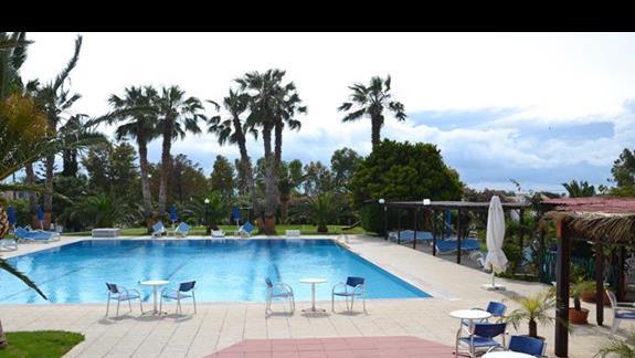 Basen w hotelu Nina Beach