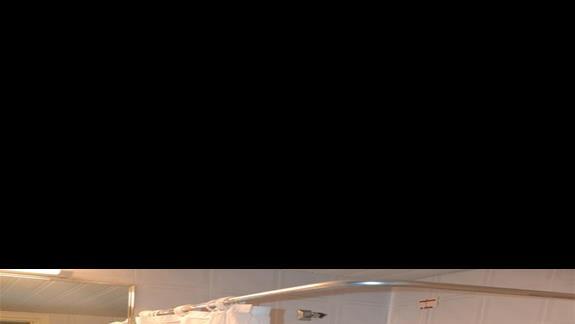 Łazienka w hotelu Nina Beach