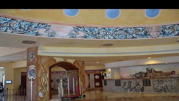 Recpecja w hotelu Yasmin Resort