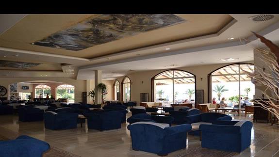 Lobby w hotelu Yasmin Resort