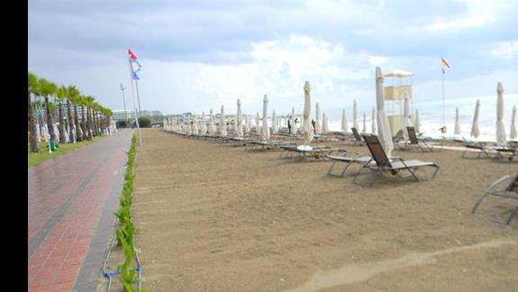 Plaża przy hotelu Gural Premier