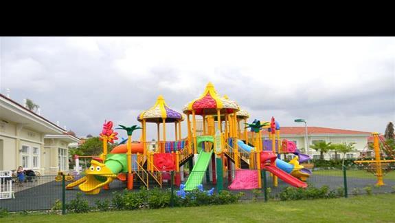 Plac zabaw mini clubu w hotelu Gural Premier