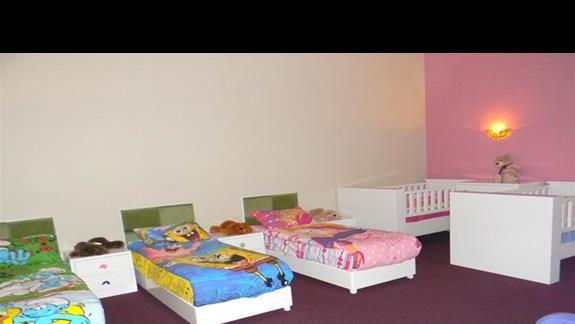 Pokój przeznaczony na drzemki w mini clubie w hotelu Gural Premier