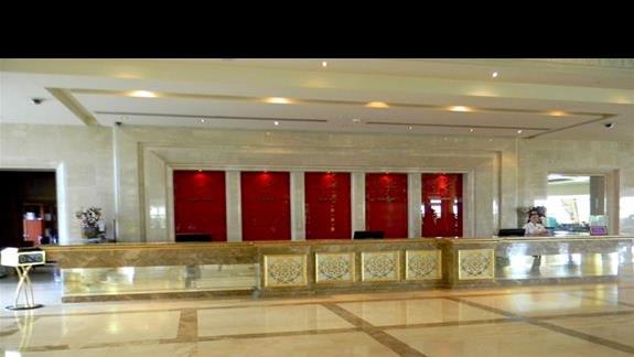 Recepcja w hotelu Ela Quality Resort