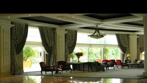 Lobby w hotelu Ela Quality Resort