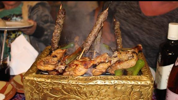 Danie w restauracji libanskiej