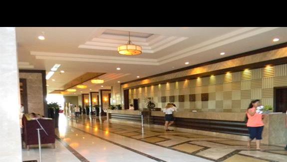 Recepcja w hotelu Susesi De Luxe Resort