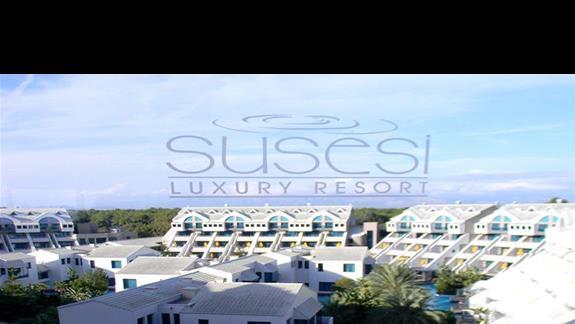 Widok na hotel Susesi De Luxe Resort