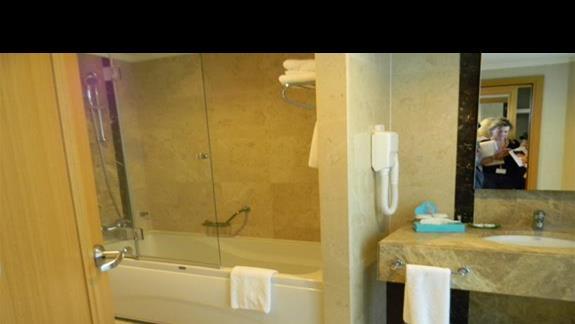 Łazienka w pokoju Standard w hotelu Susesi De Luxe Resort