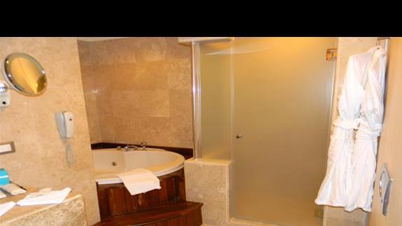 Lazienka w budynku Lake House w hotelu Susesi De Luxe Resort