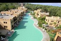 Hotel Rixos Premium - Widok na wille w hotelu Rixos Premium