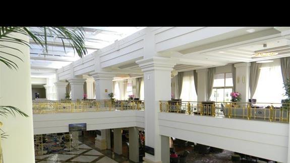 Lobby w hotelu Rixos Premium