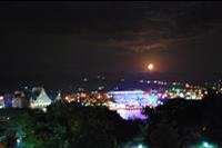 Hotel Water Planet Aquapark - widok z okna w nocy