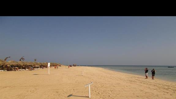 piękna plaża hotelu
