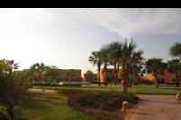 Hotel Jaz Grand Resta - widok na teren hotelu