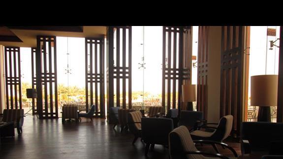 przestronne lobby