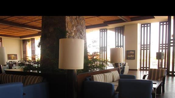 przestronne i gustowne  lobby