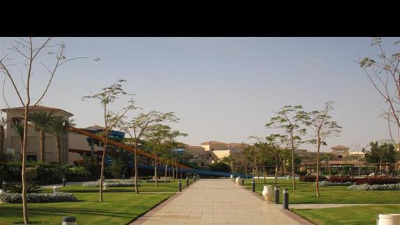jeden z aquaparków