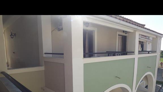 widok z balkonu, balkony