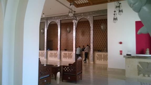 Recepcja w Hotelu Hilton Marsa Alam Nubian Resort