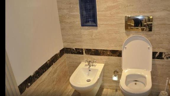 Łazienka w Hotelu Hilton Marsa Alam Nubian Resort