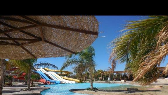 Aquapark i basen w  Hotelu Three Corners Sea Beach