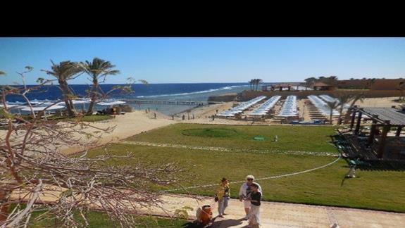 Widok z pokoju w hotelu Resta Reef Resort