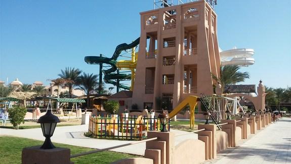 Teren hotelu ALbatros Garden