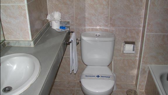 Łazienka w hotelu Beverly Park