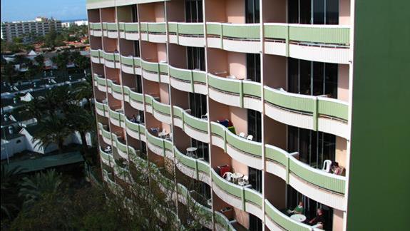 Skrzydło hotelu IFA Buenaventura