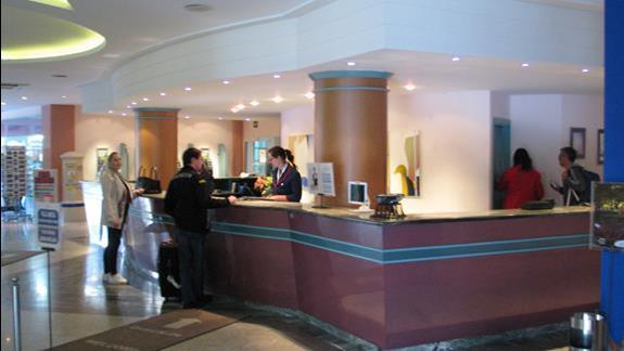 Recepcja w hotelu IFA Buenaventura