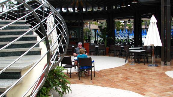 Fragment restauracji w Dunas Suites & Villas