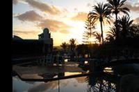 Hotel Ifa Interclub Atlantic - Zachód słońca przy basenie w hotelu Ifa Interclub Atlantic