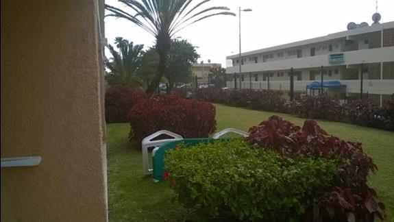 Widok z jednego z pokoi w hotelu Ifa Interclub Atlantic