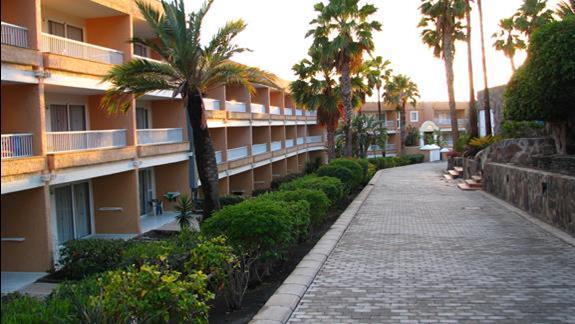 Budynek główny w hotelu Ifa Interclub Atlantic