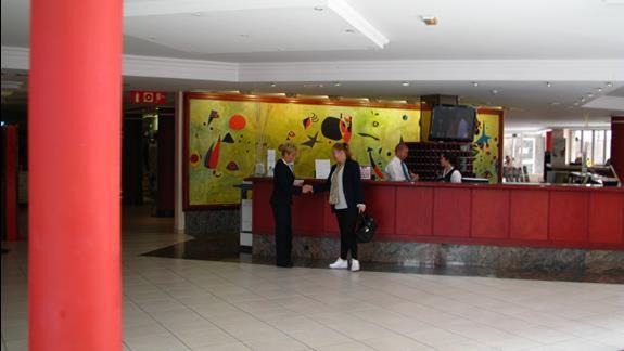 Recepcja w hotelu Dunas Mirador Maspalomas